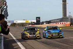 Fotofinish, Yannick Mettler und Michael Schrey, BMW M235i Racing Cup