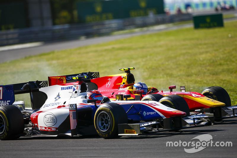 Raffaele Marciello, Trident. y Gustav Malja, Racing Engineering