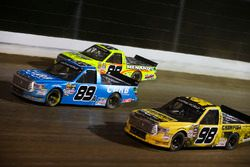 Rico Abreu, ThorSport Racing Toyota, Grant Enfinger, ThorSport Racing Toyota, and Matt Crafton, Thor