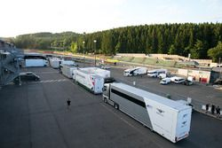 Transporters in the paddock