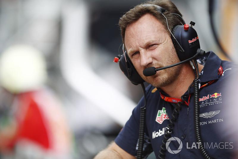 Керівник Red Bull Крістіан Хорнер