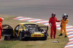 Laurent Aiello, Hasseroder Abt-Audi TT-R crashes