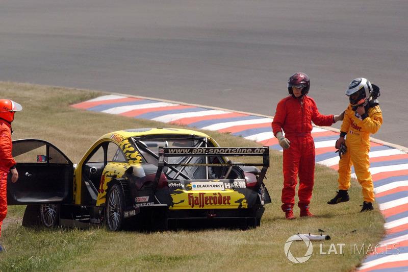 Laurent Aiello, Hasseroder Abt-Audi TT-R choque