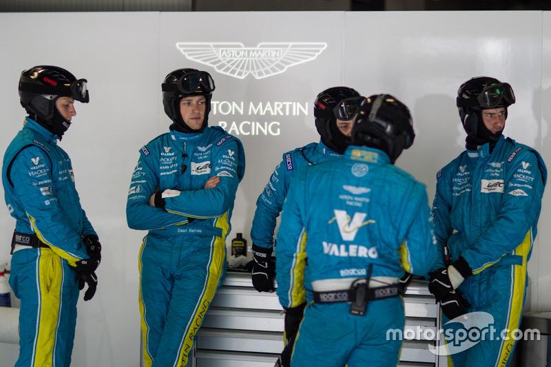 Miembros del equipo Aston Martin Racing