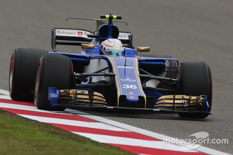 Ausfall: Antonio Giovinazzi, Sauber C36