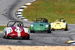 #70 1961 Porsche 356b Vic Skirmants #0 1960 Porsche 356b George F. Balbach #90 1961 356 rdstr Mike