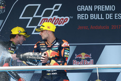2. Francesco Bagnaia, Sky Racing Team VR46; 3. Miguel Oliveira, Red Bull KTM Ajo