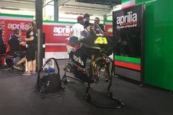 Aleix Espargaro, Aprilia Racing Team Gresini with new aerodynamic winglet fairing