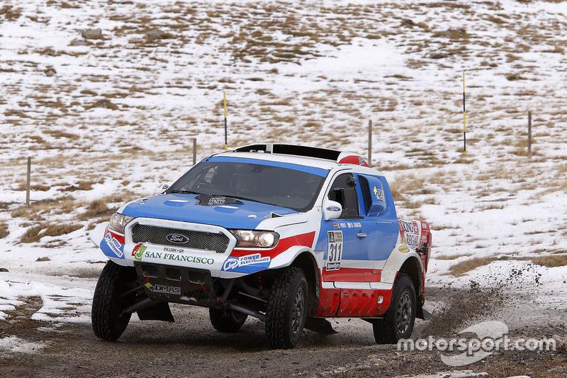 Хавьер Понс и Рубен Гарсия, Ford South Racing