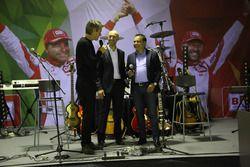 Jimmi Ghione, Giandomenico Basso e Lorenzo Granai