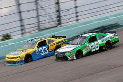 Brandon Jones, Richard Childress Racing Chevrolet, Dakoda Armstrong, Toyota