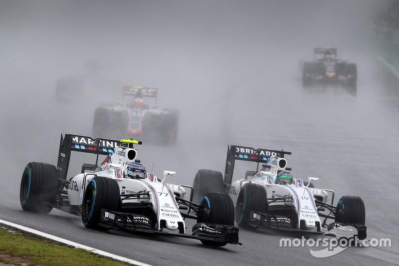 Valtteri Bottas y Felipe Massa, Williams FW38