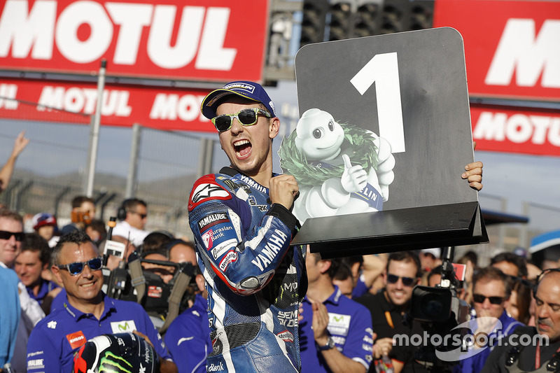 2016: MotoGP, 3º - Jorge Lorenzo - Yamaha
