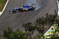 Marcus Ericsson, Sauber C35 en tête-à-queue