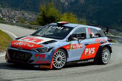 Pedro, Luca Beltrame, Hyundai i20 WRC, Car Racing