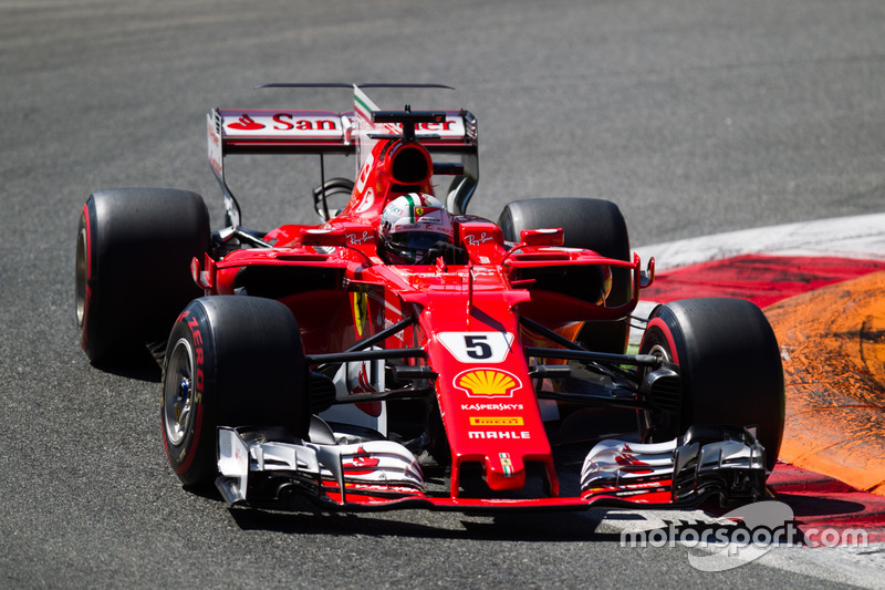 10. Sebastian Vettel (Ferrari) - 18 races (Japan 2016 - Italy 2017)