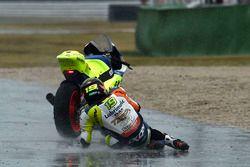 Авария: Ксавье Симеон, Tasca Racing Scuderia Moto2