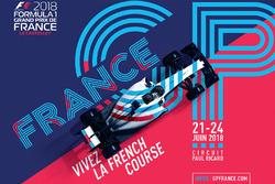 Офіційний постер Гран Прі Франції