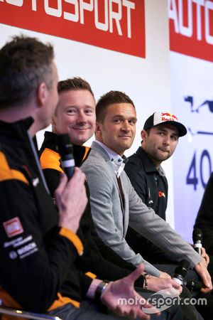 Matt Neal, Gordon Shedden, Colin Turkington and Andrew Jordan