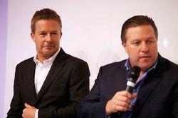 Richard Dean and Zak Brown, Chairman, Motorsport Network