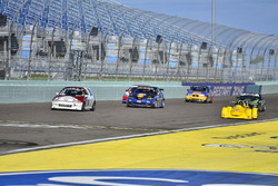 #133 MP4C Honda Civic driven by Juan Paulino of J&A Motorsports, #7 MP3B Mazda 6 driven by Carlos Gr