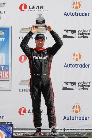 Podium : le troisième, Will Power, Team Penske Chevrolet