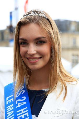 Cécile Fourrier, Miss 24 Heures du Mans 2016