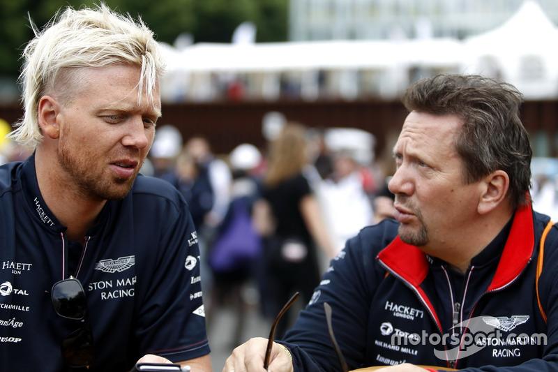 #95 Aston Martin Racing Aston Martin Vantage: Nicki Thiim con Jan Struve