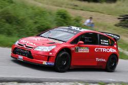 Luca Pedersoli, Matteo Romano, Citroen C4 WRC #1
