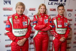 #60 Formula Racing Ferrari 458 Italia: Johnny Laursen, Christina Nielsen, Mikkel Mac