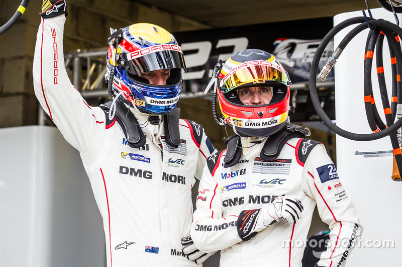 #1 Porsche Team Porsche 919 Hybrid: Марк Веббер та Тімо Бернхард