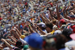 NASCAR-Fans am Michigan International Speedway