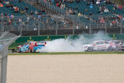 Jason Bright, Brad Jones Racing Holden crash