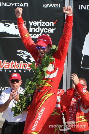 Sieger Scott Dixon, Chip Ganassi Racing, Chevrolet