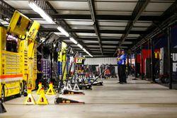 Ambiente en el garaje