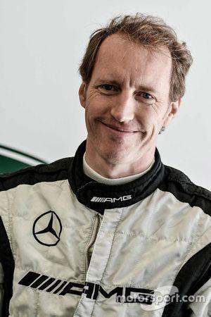 #19 Lechner Racing Mercedes AMG GT3: Thomas Jäger