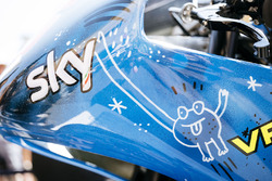 Sky Racing Team VR46 new bike livery detail
