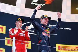Max Verstappen, Red Bull Racing celebra su victoria