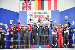 Podium: 1. GTE #77 Proton Competition, Porsche 911 RSR 991: Michael Hedlund, Marco Seefried, Wolf He