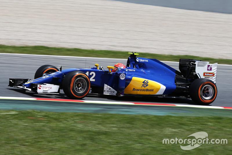 Felipe Nasr terminou o GP da Espanha em 15º e segue sem pontuar na temporada. O brasileiro da Sauber é o penúltimo no Mundial de Pilotos, à frente apenas de Rio Haryanto.