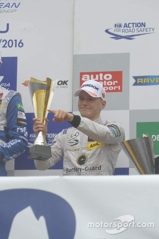Podium : Maximilian Günther, Prema Powerteam Dallara F312 – Mercedes-Benz,