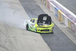 Justin Marks, Chip Ganassi Racing Chevrolet in heavy crash