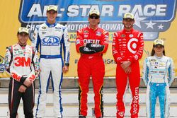 Ins All-Star-Race eingezogen: Chase Elliott, Trevor Bayne, Greg Biffle, Kyle Larson und Danica Patri