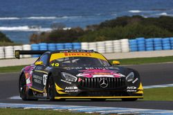 #19 Hogs Breath Café/Griffith Corporation Mercedes-AMG GT3: Mark Griffith