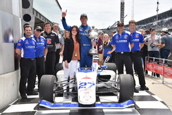 Dean Stoneman, Andretti Autosport, vincitore della corsa
