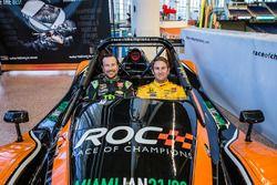 Kurt Busch und Ryan Hunter-Reay im Radical-Auto für das Race of Champions 2017