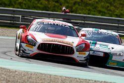 #21 AMG - Team Zakspeed, Mercedes-AMG GT3: Nikolaj Rogivue, Felix Rosenqvist