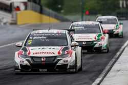Квалификация MAC3: Норберт Михелиц, Honda Racing Team JAS, Honda Civic WTCC