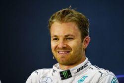Press conference: winner Nico Rosberg, Mercedes AMG F1 Team