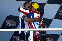 Podium: winner Sam Lowes, Federal Oil Gresini Moto2